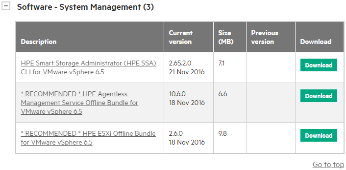 HPE System Management
