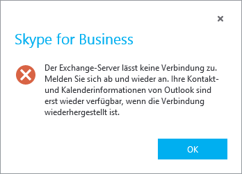 Outlook integrations Probleme