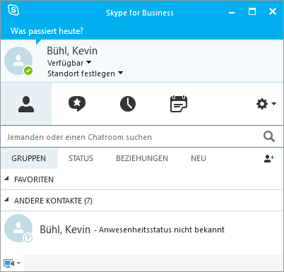 Skype for Business Client